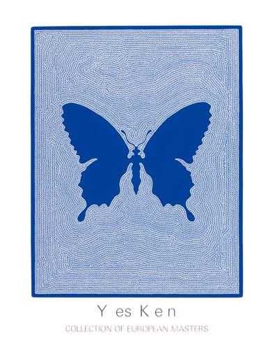 719 Yes Ken (Blue Butterfly)
